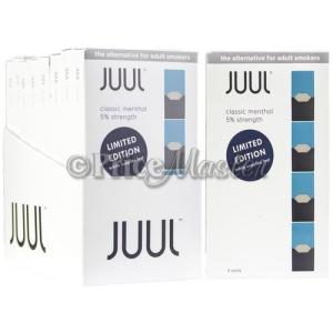 JUUL POD 4'S 8CT/BX *CLASSIC MENTHOL* - Wholesale