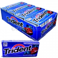 TRIDENT VALUE PACK 18'S *BLUEBERRY TWIST* 12PK/BX
