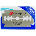 DORCO ST-300 (BLUE) DOUBLE EDGE BLADE 10'S 10PC/PK